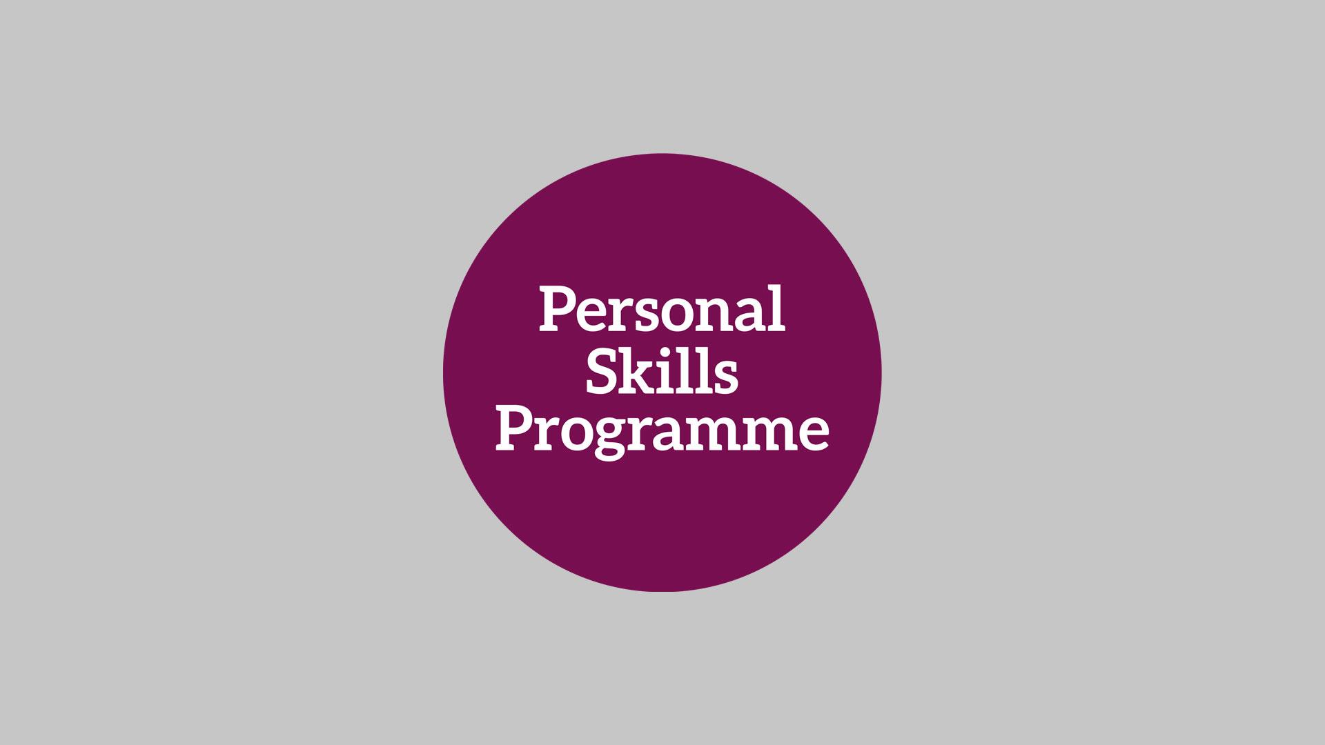 Personal Skills Programme Pioneers