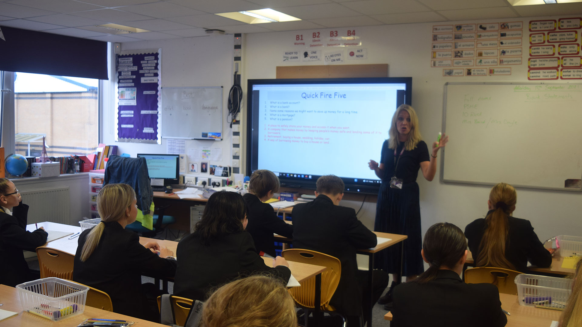 Year 9 and Year 10 Becoming Financially Literate at AHS