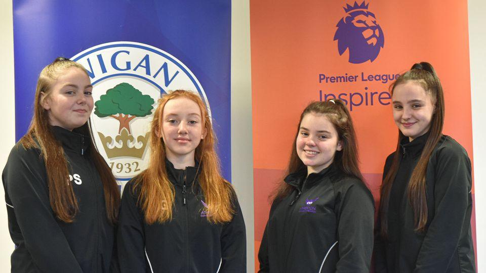 Atherton High School wins Premier League Inspires Challenge